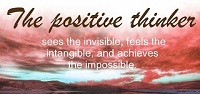 Sees the invisible, feels the intangible, and achieves the impossible