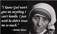 Mother Teresa Quotes On God's, sayings about Jesus Chris