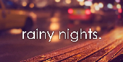 Rainy Night Quotes - Cold and Dark Night with Rain