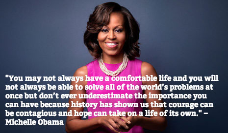 Michelle Obama Quotes: Top 9 Quotes from First Lady Michelle Obama