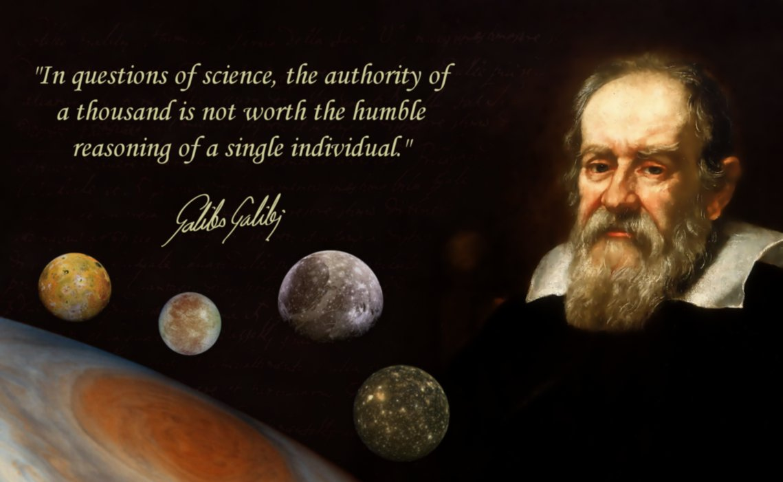 Galileo Galilei Quotes On Sense, Reason, Intellect, And God