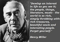 Top 20 Henry Miller Quotes And Sayings