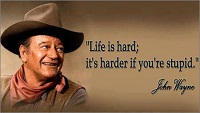Famous John Wayne Quotes And Saying