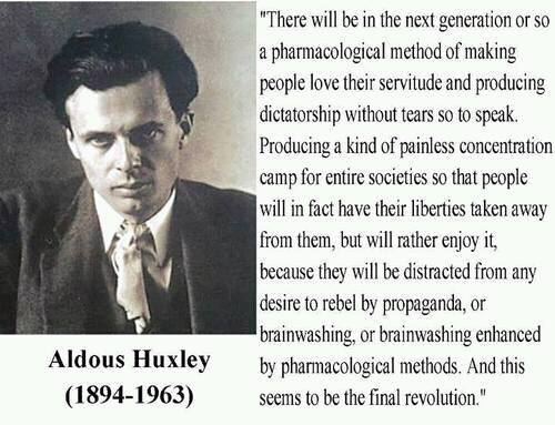 34 Best Aldous Huxley quotes - Author of Brave New World
