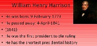 Top 20 Best William Henry Harrison Quotes | 2Quotes