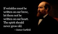 James Garfield Quotes - The 20th President of the United States