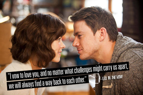 love quotes from movies romantic movie quotes