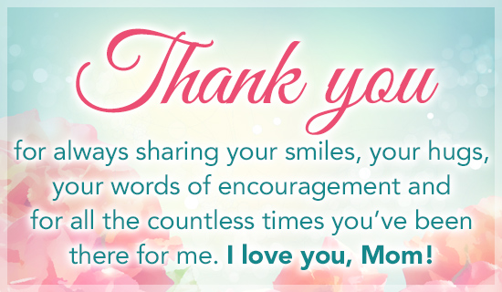 Thank You Mom For Everything Quotes And Messages - Mother Sayings