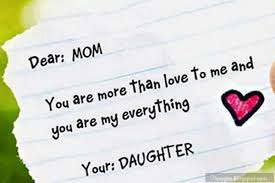 I Love My Mom So Much Quotes From Daughter - Mother Sayings