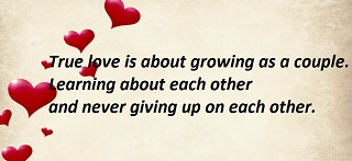 Never Give Up On Love Quotes And Sayings - This Is True Love