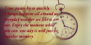 quotes about time passing too fast don t waste time