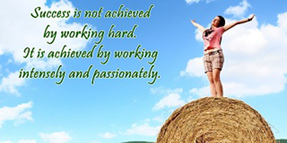 Famous Quotes About Passion And Work - Success Will Follow You