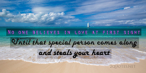 Famous Quotes And Sayings On Love At First Sight