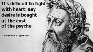 Famous Quotes By Heraclitus - Heraclitus Quotes Warrior