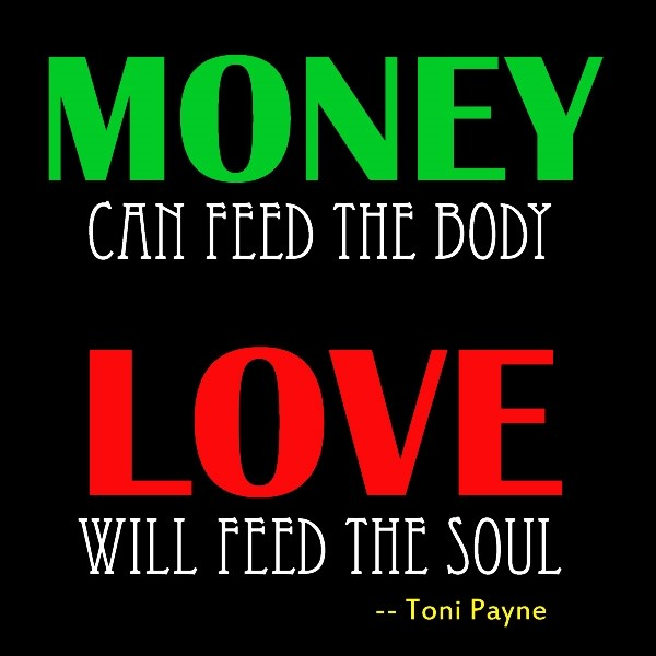 Quotes about money and love