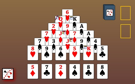 Solitaire Pyramid Egypt Card Games Online