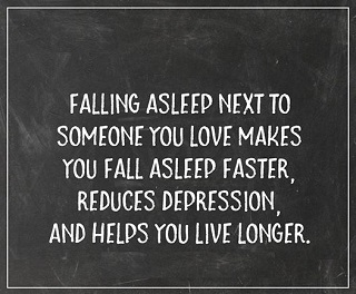 falling asleep love quote
