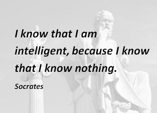 socrates quotes on know