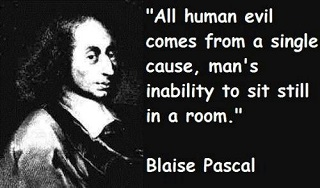 Human evil quotes by Blaise Pascal