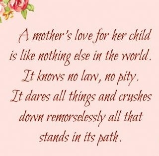 Mother Love Quotes Entrancing I Love My Mother Quotes  Loving Mom Sayings  Quotes About Life