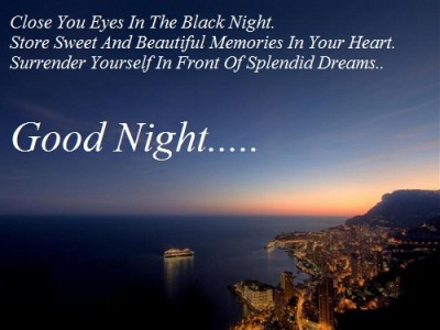 Inspirational Goodnight Quotes To Any Of Your Loved Ones.
