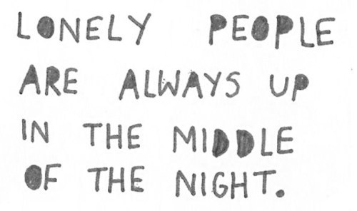 lonely nights quotes