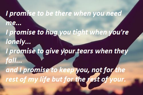 I Promise To Love You Forever Quotes - Keeping Promises Quotes