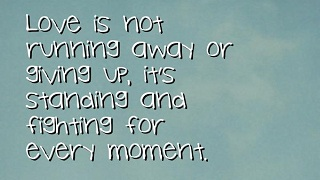 Quotes About Not Giving Up | Never Give Up On Love Quotes And Sayings This Is True Love