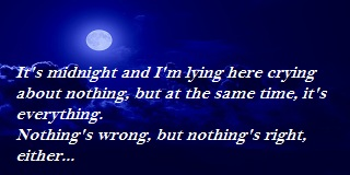 Quotes about being lonely at night