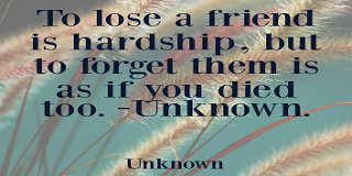 Sad quotes about losing your best friend