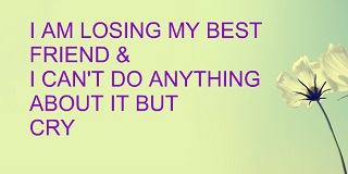 Quotes About Losing A Best Friend Friendship Amusing Sad Quotes About Losing Your Best Friend