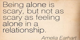 Being in a relationship and feeling alone