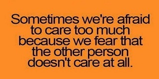 Caring Too Much Quotes And Sayings