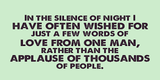 silence quotes about love