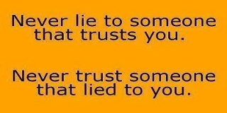 Quotes About Lying To Someone You Love