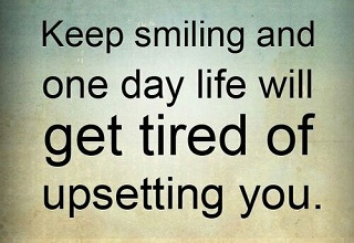 Inspirational Quotes  To Keep Smile On Your Face With Picture