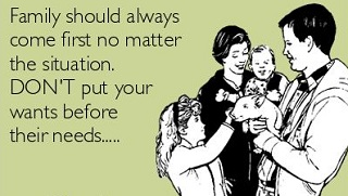 Family comes first quotes and sayings