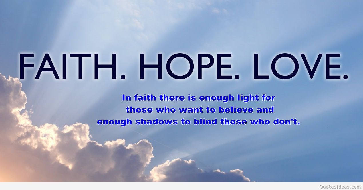 Image of: Moving Quotes Hope And Faith Quotes