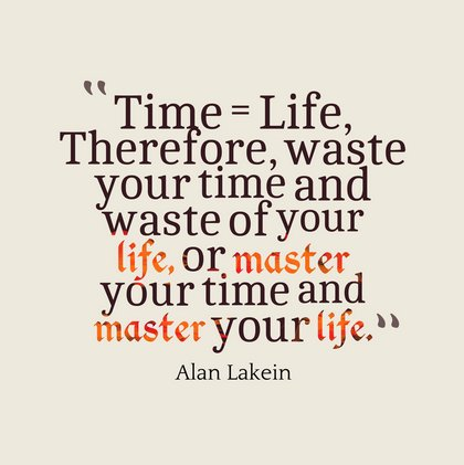 quotes about time and life