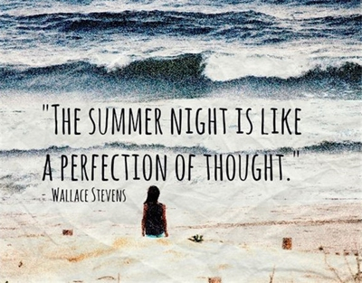 Summer Night Quotes