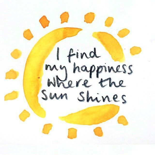 Sunny Day Quotes: Happiness Is A Sunny Day